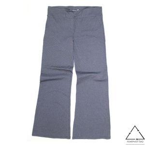 Betabrand Yoga Elastic Pinstripe Legging Pant TALL